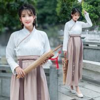 National costume / stage costume Autumn of 2018 suit S M L XL XXL XXXL cotton 31% (inclusive) - 50% (inclusive)