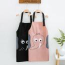 apron Black, green, gray, pink Sleeveless apron antifouling Korean version other Personal washing / cleaning / care Average size public no Idyllic