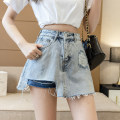 skirt Summer 2021 S ml XL f (one size fits all) Picture skirt picture top one size fits all Short skirt commute High waist A-line skirt Solid color Type A 18-24 years old GZ/GMG935 More than 95% Denim Chan Yu Yi other Button zipper with holes Korean version Other 100% Pure e-commerce (online only)