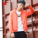 Sports windbreaker male Saiqi / Saiqi Orange, blue, black XS/160,S/165,M/170,L/175,XL/180,2XL/185,3XL/190 Autumn of 2018 stand collar zipper Brand logo Sports & Leisure polyester fiber Sports life Warm and windproof