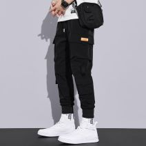 Casual pants Others Youth fashion Zgx × 6604 black, zgx × 6604 gray, zgx × 6604 khaki, 819 M,L,XL,2XL,3XL,4XL routine trousers motion easy Micro bomb ZGX#6604-0124C spring teenagers tide 2021 middle-waisted Little feet Polyamide fiber (nylon) 90.8% polyurethane elastic fiber (spandex) 9.2% Overalls