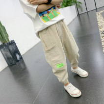trousers Changing trend children male 110cm,120cm,130cm,140cm,150cm,160cm,170cm Army green, light Khaki summer trousers leisure time There are models in the real shooting Casual pants Leather belt middle-waisted Pure cotton (100% content) Don't open the crotch Cotton 100.0% cxxk20702-1 Class B