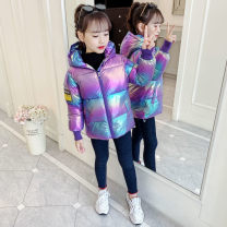 Cotton padded clothes White, purple, light green, bright pink 110 (90-105), 120 (105-115), 130 (115-125), 140 (125-135), 150 (135-145) Winter 2020 Other / other routine Long sleeves thickening commute Straight cylinder Korean version cotton Cotton 96% and above Under 17