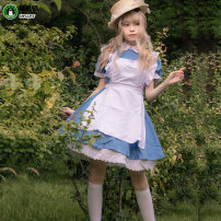 Cosplay women's wear suit goods in stock Over 14 years old Alice water blue (dress + apron + headdress +), Alice Pink (dress + apron + headdress +), Alice black (dress + apron + headdress + gift) Animation, original L,M,XL other Chinese Mainland Alice NP1606