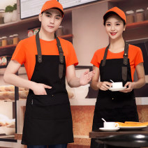 apron Blue, black, coffee, red, gray, orange, coffee, blue polyester cotton, rose red polyester cotton, black polyester cotton Sleeveless apron Simplicity Cooking / baking / barbecue Average size public