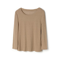 Wool knitwear Spring 2021 2XL,L,S,XL,XS,4XL,5XL,3XL,6XL,M,F Khaki three quarter sleeve singleton  other 91% (including) - 95% (excluding) routine Low crew neck routine Socket 9m 30-34 years old 9 Charms