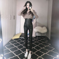 Leggings Autumn of 2019 black S,M,L,XL trousers A8002 Play the flute skin