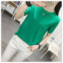 T-shirt Khaki black green dark purple S M L XL Spring 2020 Short sleeve Crew neck easy have cash less than that is registered in the accounts routine commute other 96% and above 25-29 years old Korean version Jen Yilian ZYL5283FF Other 100% Pure e-commerce (online only)