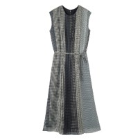 Dress Spring 2021 grey S,M,L,LL longuette 2096-02