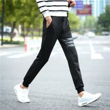 Casual pants Others Youth fashion M (28-29) s (26-27) l (30-31) full two gifts XXL (33-34) XL (32-33) routine Ninth pants Other leisure Self cultivation Micro bomb summer youth tide 2018 Medium low back Little feet Sports pants Three dimensional tailoring No iron treatment Solid color cotton cotton