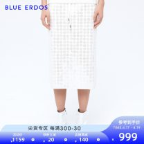 skirt Spring of 2019 155/60A/XS 160/64A/S 165/68A/M 170/72A/L Beige Middle-skirt grace Natural waist skirt Decor Type H 25-29 years old B295F0005 81% (inclusive) - 90% (inclusive) other blue erdos Viscose Sequins Viscose (viscose) 81% polyester 19%