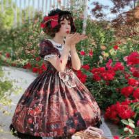 Lolita / soft girl / dress Lemon candy Pink stock, black stock L,M,S