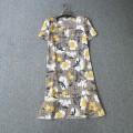 Dress Summer 2020 Yellow flower S,M,L,XL