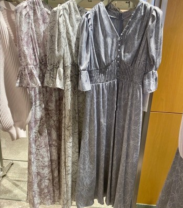 Dress Spring 2021 S, M Mid length dress Short sleeve Sweet Other / other