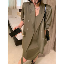 Fashion suit Spring 2021 S,M,L Champagne coffee jacket, champagne coffee suspender skirt, champagne coffee suit, pre-sale of champagne coffee jacket, pre-sale of champagne coffee suspender skirt, pre-sale of champagne coffee suit JE1CTC01 91% (inclusive) - 95% (inclusive)