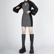 cheongsam Winter 2020 XS,S,M,L Black, black (pre-sale)