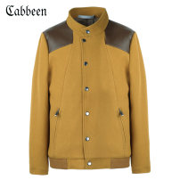 Jacket CABBEEN / Carbene Fashion City Black 11 yellow 53 48/170/M 50/175/L 52/180/XL 54/185/XXL 56/190/XXXL routine Self cultivation Travel? autumn Other 100% Long sleeves Wear out stand collar American leisure youth routine Single breasted Rib hem Loose cuff Solid color Autumn 2015 Zipper bag