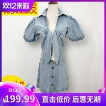 Dress Spring 2020 XS,S,M,L Short skirt Short sleeve