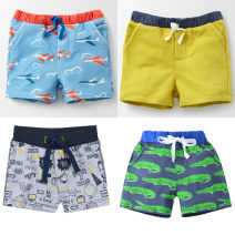 trousers Other / other male summer shorts leisure time Sports pants Leather belt middle-waisted cotton Don't open the crotch Cotton 100% 12 months, 18 months, 2 years old, 3 years old, 4 years old, 5 years old, 6 years old, 7 years old, 8 years old