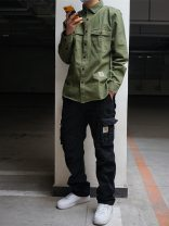 Casual pants CARHARTT WIP Youth fashion Black, army green, khaki M,L,XL,2XL trousers Other leisure easy