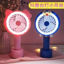 Mini fan Mini Fan USB Pink white light pink light pink white blue dark blue pink Chinese Mainland NO.HR8976 NO.HR8976 public Cartoon 0.25KG Zero point four