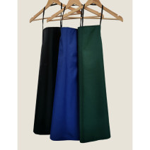 apron Sleeveless apron waterproof Simplicity PVC Household cleaning Average size public no Solid color