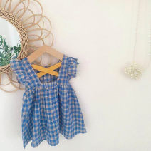 Dress Plaid skirt female Other / other 80cm,90cm,100cm,110cm,120cm,130cm Other 100% summer Korean version lattice other Princess Dress Class B 2 years old, 3 years old, 4 years old, 5 years old, 6 years old