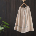 skirt Summer 2021 Average size Apricot, white, light green, purple, pink Mid length dress Versatile Natural waist A-line skirt Solid color Type A N086—4840 51% (inclusive) - 70% (inclusive) Zeeoiy / alternative cotton
