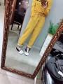 Casual pants M,L,XL,2XL,3XL Autumn 2020 Natural waist routine