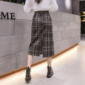 skirt Spring 2021 XXS,XS,S,M Mid length dress commute High waist skirt lattice Type A 25-29 years old 51% (inclusive) - 70% (inclusive) Wool other zipper Korean version 201g / m ^ 2 (including) - 250G / m ^ 2 (including)