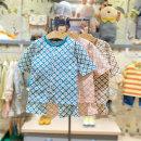 Underwear set CG blue, PI pink, Br brown, Br Brown (delivery within 48 hours), PI Pink (delivery within 48 hours), CG blue (delivery within 48 hours) Cotton 100% cotton moimoln summer neutral Class A M212NNH10P 12 months, under 1 year old, 18 months, 2 years, 3 years old Korean version