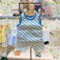 Underwear set BL blue agent, BL blue (now pre-sale, April 24 delivery), BL blue (48 hours delivery) Cotton 100% other moimoln summer neutral Class A M212NNH31P 12 months, under 1 year old, 18 months, 2 years, 3 years old Korean version