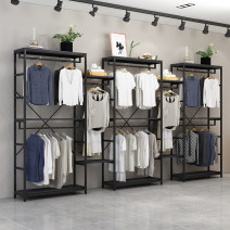 Clothing display rack clothing Metal 80*40*200 Other / other Official standard 240x50x30cm