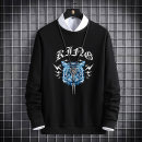 Sweater Youth fashion VGQ M L XL 2XL 3XL 4XL 5XL 6XL 7XL 8XL Animal design Socket routine Crew neck spring easy leisure time youth tide routine 8601-1 Polyester 100% printing No iron treatment Spring 2021 Pure e-commerce (online only) Chinese style