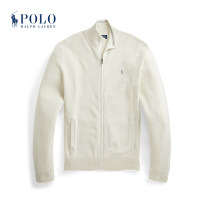 T-shirt / sweater POLO RALPH LAUREN Fashion City 101 white S M L XL XS XXL Cardigan Half high collar Long sleeves MNPOSWE16820672 Cotton 100% Spring 2021 Same model in shopping mall (sold online and offline)