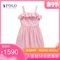 Dress female POLO RALPH LAUREN 7 8 10 12 14 16 Cotton 100% cotton A-line skirt Spring 2021 7 years old, 8 years old, 9 years old, 10 years old, 11 years old, 12 years old, 13 years old, 14 years old