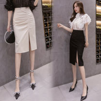 skirt Autumn 2020 S M L XL XXL Mid length dress High waist Irregular Type A 25-29 years old More than 95% Show other Other 100%
