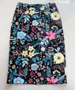 skirt Spring 2020 S,M,L black Mid length dress Versatile High waist Flower bud skirt Decor Type H 30-34 years old More than 95% other polyester fiber