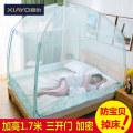 Mosquito net 1,2 м (4 фута) кровать 1,5 м (5 футов) кровать 1,8 м (6 футов) кровать 2,0 м (6,6 фута) кровать 1,8 * 2,2 м кровать Тип Юрты 3 двери Ся ты общий Стекловолокно wz180410-01 Необходимо установить