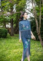 Fashion suit Summer of 2019 S spot m spot l spot Gray blue 25-35 years old Magic Q by lou Cotton 65% polyamide fiber (nylon) 35%