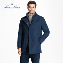 Jacket Brooks brothers Business gentleman Navy Blue L one billion forty thousand one hundred and fifty-three Polyester 100% Winter 2017 Same model in shopping mall (sold online and offline)