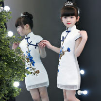 cheongsam 100,110,120,130,140,150,160 Cotton 20% others 80% There are models in the real shooting No season Solid color other Class B A25 2, 3, 4, 5, 6, 7, 8, 9, 10, 11, 12, 13, 14 years old Chinese Mainland