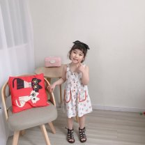 Family clothes for parents and children 80cm,90cm,100cm,110cm,120cm,130cm other Cherry pattern, collection plus purchase priority delivery