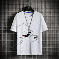 T-shirt Youth fashion routine M L XL 2XL 3XL Bund diary Short sleeve Crew neck easy Other leisure summer WTRJ-.T229 Cotton 100% youth routine tide Cotton wool Summer 2021 Cartoon animation printing cotton Creative interest No iron treatment Pure e-commerce (online only) More than 95%