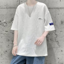 T-shirt Youth fashion Cabano thin Short sleeve Crew neck easy Other leisure summer KBATX-9010. Polyester 100% teenagers Off shoulder sleeve tide other Solid color Summer 2021 other Non iron treatment Fashion brand Pure e-commerce (online sales only) Quick drying M L XL 2XL 3XL