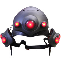 Cosplay accessories Mask / mask goods in stock Magic world animation Black Lily helmet Game characters Average size