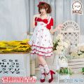 Cosplay women's wear skirt goods in stock Over 14 years old Package one game S,M,L,XL Jiangnan Miaozi Pavilion Chinese Mainland Lovely wind, campus wind, Lolita Miracle warm Cos