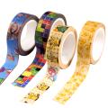 Cartoon card / Pendant / stationery Over 14 years old Adhesive tape Magic Baby / Pokemon series Tetris Pikachu Magic Baby Super Mario Paper and tape goods in stock Japan Powerangel / energy angel Pikachu