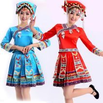 National costume / stage costume Summer of 2019 Red sky blue 4XL S M L XL XXL XXXL 45739L43058 -14324 Crnagoose / Xiangna goose Under 17 Other 100.0%
