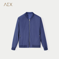 Jacket Business gentleman 165/84A 170/88A 175/92A 180/96A 185/100A routine standard Other leisure spring Polyester 100% Long sleeves Wear out Baseball collar Business Casual youth routine Zipper placket Rubber band hem Spring of 2018